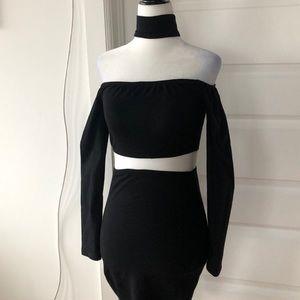Reverse Little Black Dress
